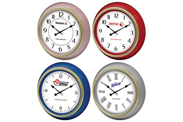 ساعت دیواری تبلیغاتی کد 5128