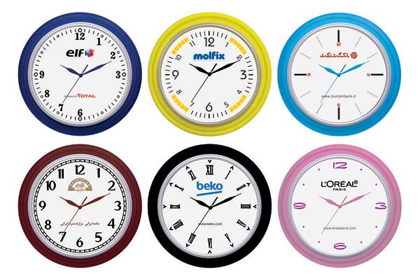 ساعت دیواری تبلیغاتی کد 5140