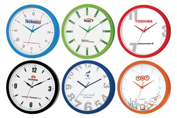 ساعت دیواری تبلیغاتی کد 5157