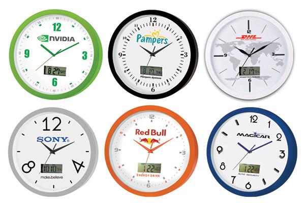 ساعت دیواری تبلیغاتی کد 5158