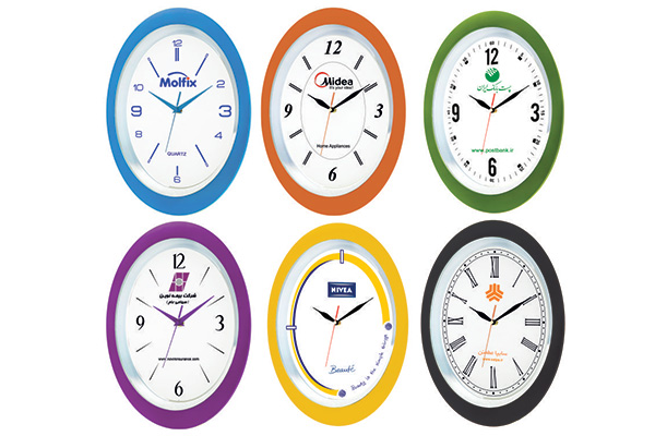 ساعت دیواری تبلیغاتی کد 5163A