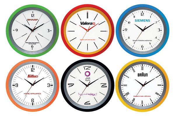 ساعت دیواری تبلیغاتی کد 5167