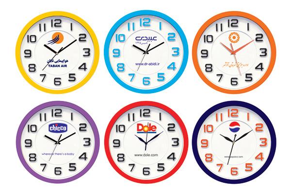 ساعت دیواری تبلیغاتی کد 5195B
